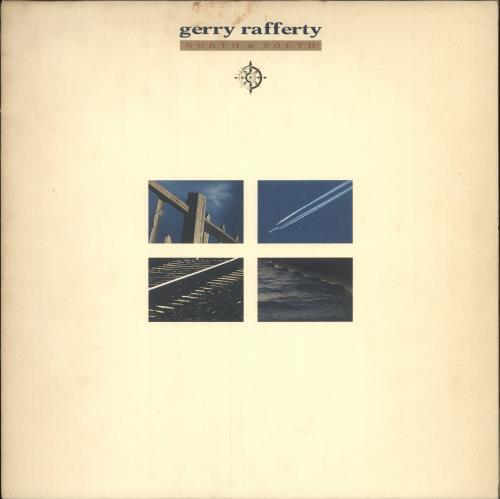 Gerry Rafferty North & South vinyl LP album (LP record) UK GERLPNO495013