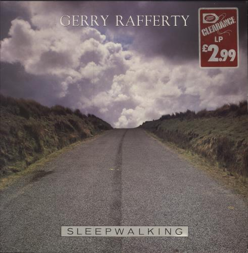 Gerry Rafferty Sleepwalking vinyl LP album (LP record) UK GERLPSL547592