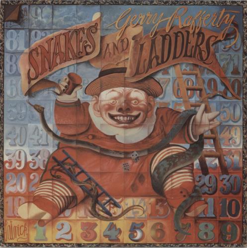 Gerry Rafferty Snakes And Ladders vinyl LP album (LP record) UK GERLPSN288251