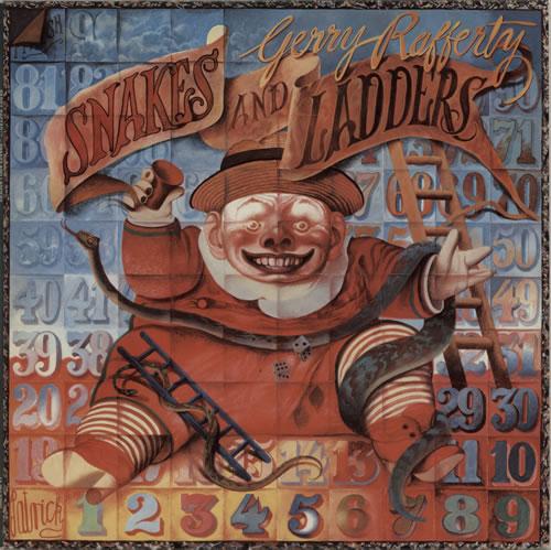 Gerry Rafferty Snakes And Ladders vinyl LP album (LP record) Dutch GERLPSN627520