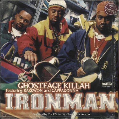 Ghostface Killah Ironman 2-LP vinyl record set (Double Album) Dutch GHF2LIR527353