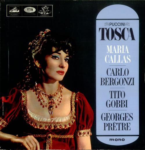 Giacomo Puccini Tosca 2-LP vinyl record set (Double Album) UK PK52LTO534031