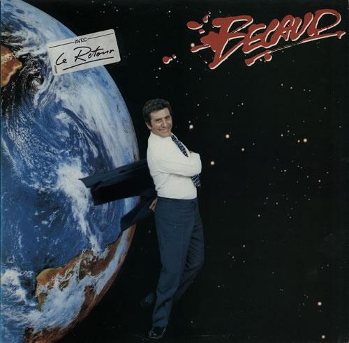 Gilbert Bécaud Bécaud French vinyl LP album (LP record)