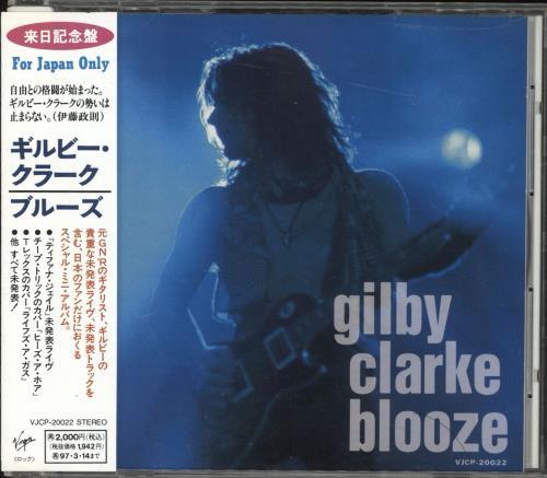 """Gilby Clarke Blooze CD single (CD5 / 5"""") Japanese GBCC5BL205268"""