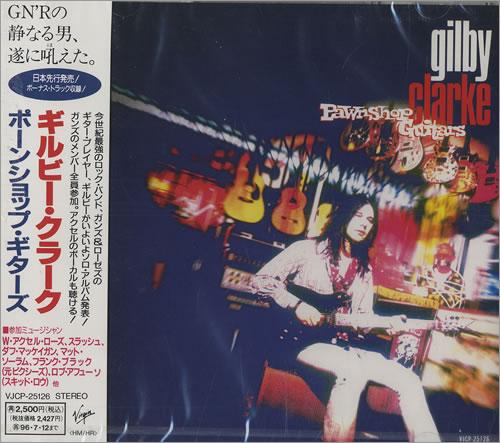 Gilby Clarke Pawnshop Guitars + Obi CD album (CDLP) Japanese GBCCDPA46434