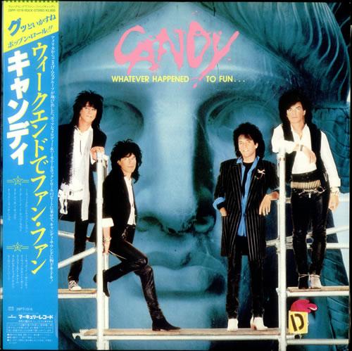 Gilby Clarke Whatever Happened To Fun... vinyl LP album (LP record) Japanese GBCLPWH533696