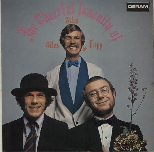 Giles, Giles & Fripp The Cheerful Insanity Of Giles, Giles And Fripp vinyl LP album (LP record) UK GGFLPTH683509