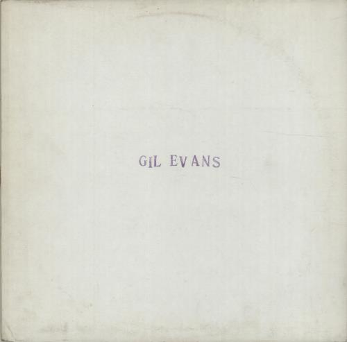 Gil Evans European Tour July 1978 vinyl LP album (LP record) UK GIVLPEU675689