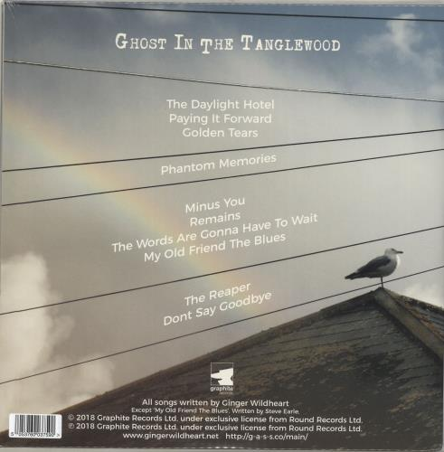 Ginger (Wildhearts) Ghost In The Tanglewood - Blue Vinyl + Sealed vinyl LP album (LP record) UK IGELPGH691802