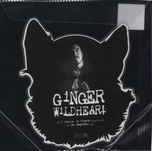 Ginger (Wildhearts) I Wanna Be Yours / No Regrets - RSD19 shaped picture disc (picture disc vinyl record) UK IGESHIW718521