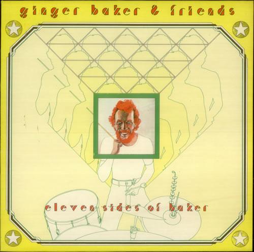 Ginger Baker Eleven Sides Of Baker vinyl LP album (LP record) UK GBKLPEL547247
