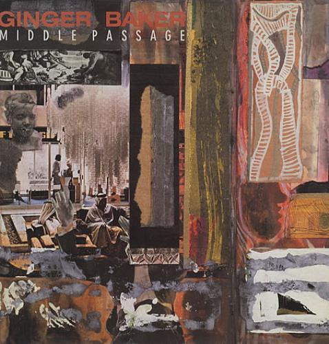 Ginger Baker Middle Passage vinyl LP album (LP record) US GBKLPMI334391
