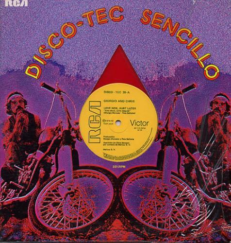 "Giorgio Moroder Ame Ahora, Sufre Despues 12"" vinyl single (12 inch record / Maxi-single) Mexican GIO12AM340944"