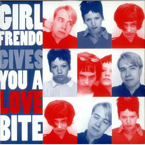 "Girlfrendo Friday Nite Lovebite 7"" vinyl single (7 inch record) UK GFD07FR419245"