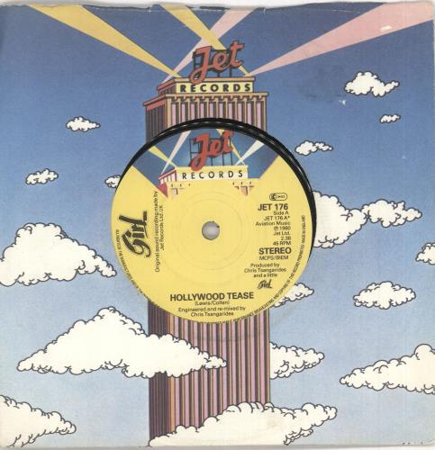 "Girl Hollywood Tease 7"" vinyl single (7 inch record) UK GIR07HO745907"