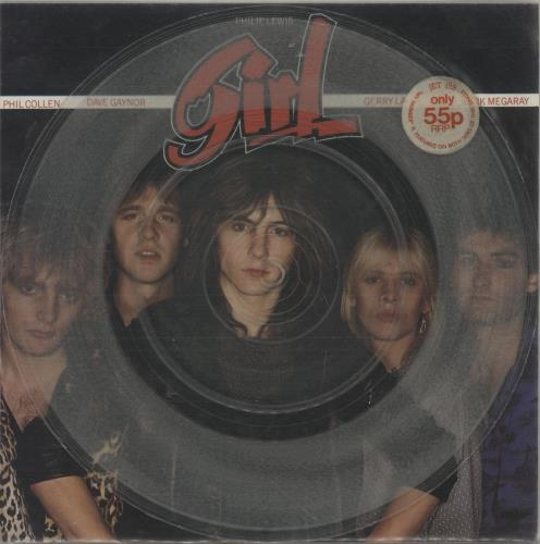 "Girl My Number - Stickered 7"" vinyl single (7 inch record) UK GIR07MY751558"