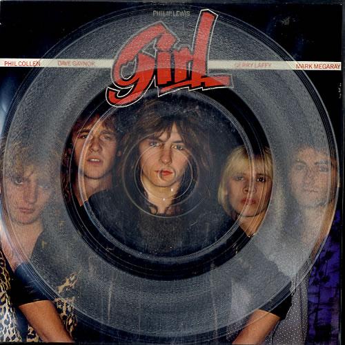 "Girl My Number 7"" vinyl single (7 inch record) UK GIR07MY154020"