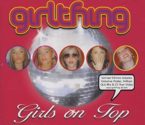 Girl Thing Girls On Top 2-CD single set (Double CD single) UK GRT2SGI169948