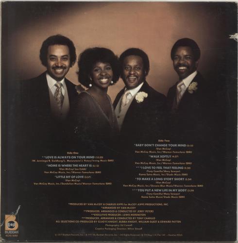Gladys Knight & The Pips Still Together vinyl LP album (LP record) UK GLDLPST701094