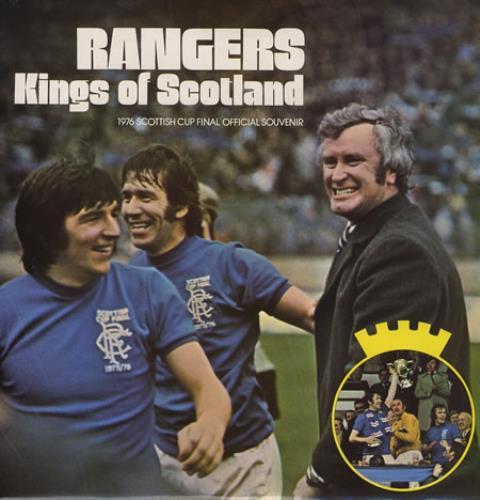 Glasgow Rangers FC Rangers - Kings Of Scotland vinyl LP album (LP record) UK GGWLPRA374645