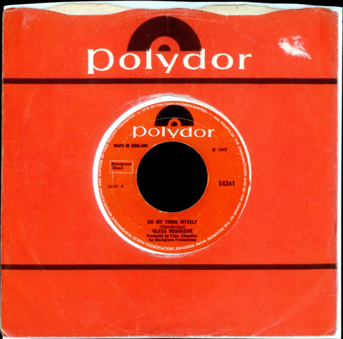 """Glass Menagerie Do My Thing Myself 7"""" vinyl single (7 inch record) UK GM507DO511309"""
