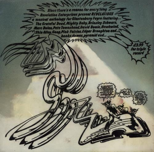 Glastonbury Glastonbury Fayre - The Electric Score - Complete 3-LP vinyl record set (Triple Album) UK G-F3LGL43881