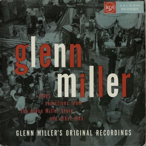 Glenn Miller Plays Selections From 'The Glenn Miller Story' - Silver Spot vinyl LP album (LP record) UK GMELPPL602481