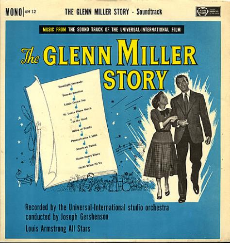 Glenn Miller The Glenn Miller Story vinyl LP album (LP record) UK GMELPTH363400