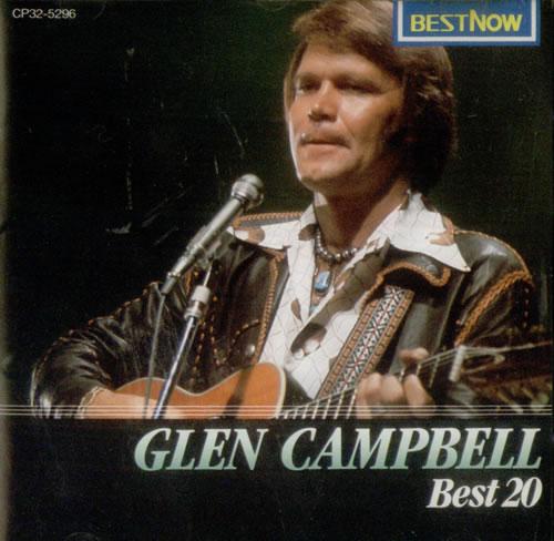 Glen Campbell Best 20 Japanese Cd Album Cdlp 540103