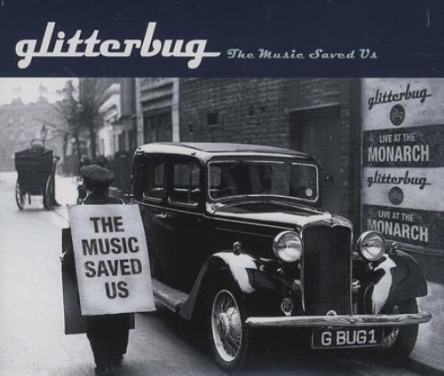 "Glitterbug The Music Saved Us CD single (CD5 / 5"") German GL8C5TH396092"