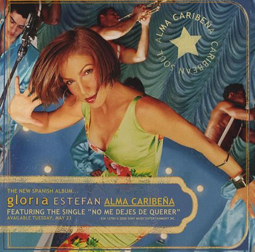 Gloria Estefan Alma Caribena CD album (CDLP) US ESTCDAL157744