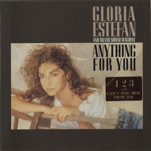 Gloria Estefan Anything For You - Stickered vinyl LP album (LP record) UK ESTLPAN686111
