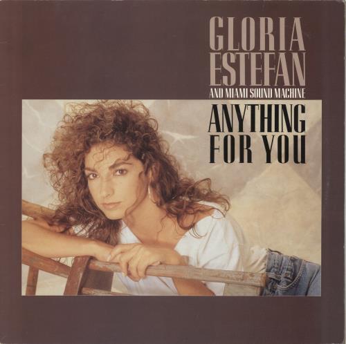 Gloria Estefan Anything For You vinyl LP album (LP record) UK ESTLPAN197621