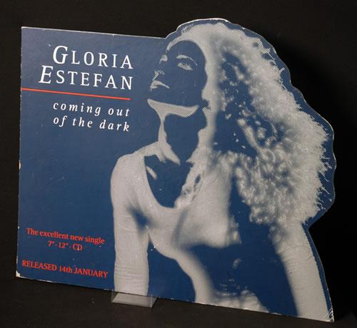 Gloria Estefan Coming Out Of The Dark display UK ESTDICO624639