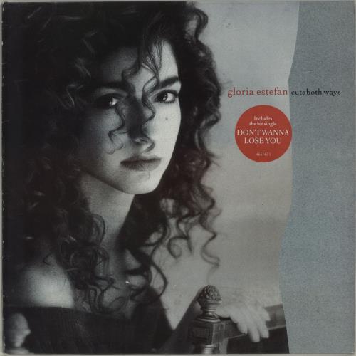 Gloria Estefan Cuts Both Ways - Hype Stickered vinyl LP album (LP record) UK ESTLPCU681683