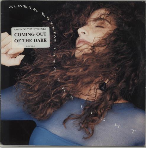 Gloria Estefan Into The Light - Hype-Stickered Sleeve vinyl LP album (LP record) Dutch ESTLPIN679504