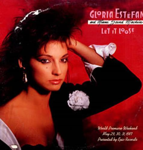 Gloria Estefan Let It Loose World Premiere Weekend 2-LP vinyl record set (Double Album) US EST2LLE19071