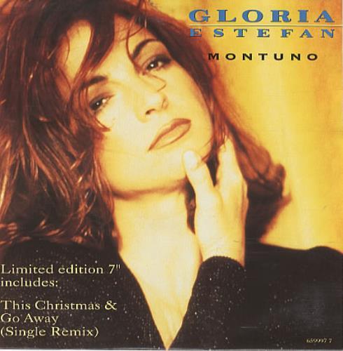"Gloria Estefan Montuno 7"" vinyl single (7 inch record) Dutch EST07MO163178"