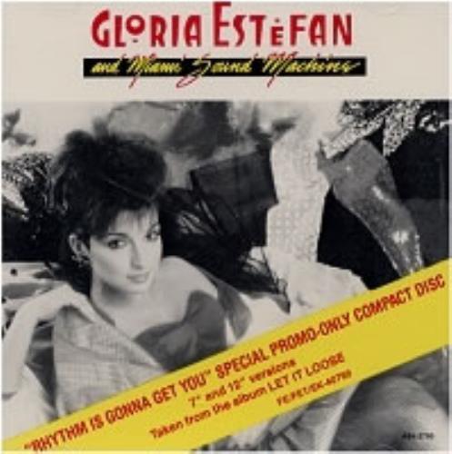 """Gloria Estefan Rhythm Is Gonna Get You CD single (CD5 / 5"""") US ESTC5RH107094"""