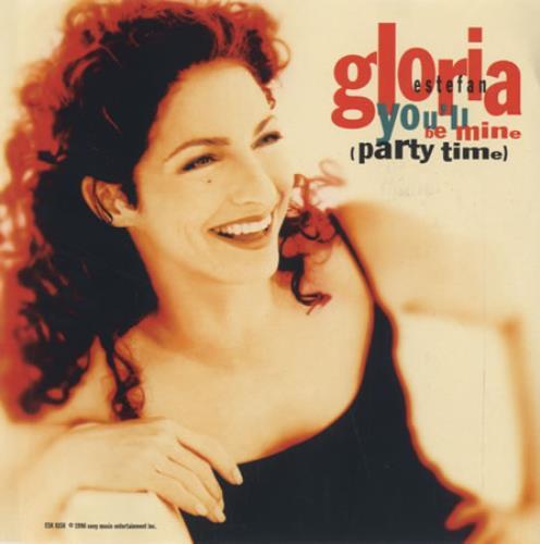 "Gloria Estefan You'll Be Mine - 3-trk CD single (CD5 / 5"") US ESTC5YO72690"