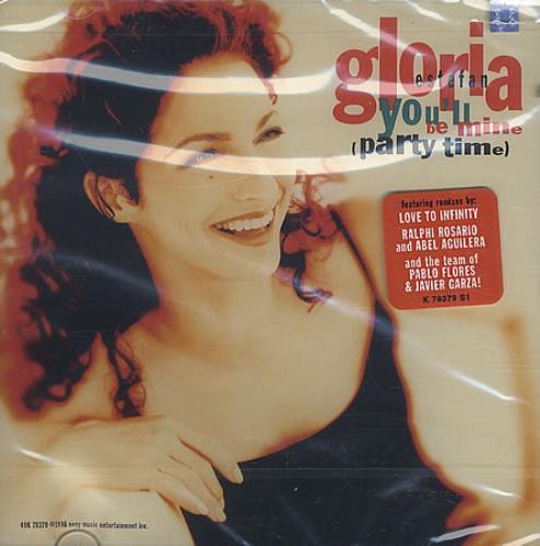 "Gloria Estefan You'll Be Mine CD single (CD5 / 5"") US ESTC5YO69483"