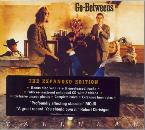 Go-Betweens Tallulah 2 CD album set (Double CD) UK TGB2CTA303083