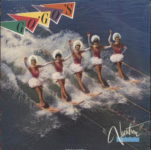Go-Go's Vacation - Sealed vinyl LP album (LP record) US GOGLPVA715768
