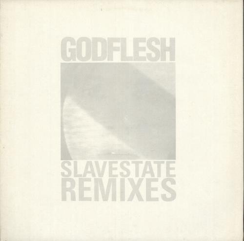 "Godflesh Slavestate (Remixes) 12"" vinyl single (12 inch record / Maxi-single) UK GA512SL712620"