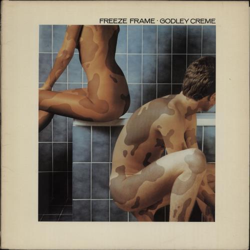 Godley & Creme Freeze Frame vinyl LP album (LP record) UK G&CLPFR658656