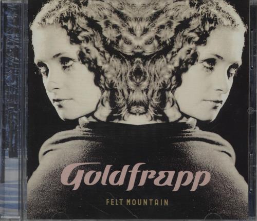 Goldfrapp Felt Mountain CD album (CDLP) UK FPPCDFE657778