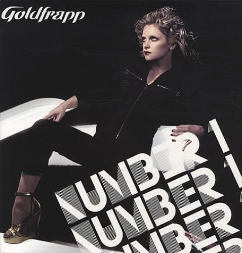 "Goldfrapp Number 1 12"" vinyl single (12 inch record / Maxi-single) UK FPP12NU341636"