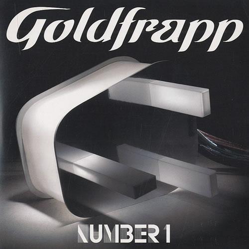 "Goldfrapp Number 1 CD single (CD5 / 5"") UK FPPC5NU435476"