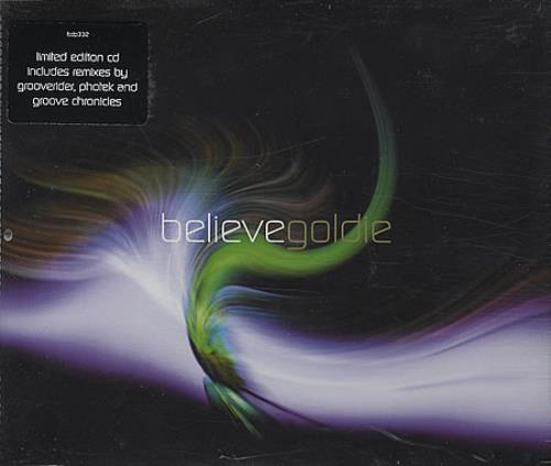 Goldie (90s) Believe 2-CD single set (Double CD single) UK GOD2SBE391873