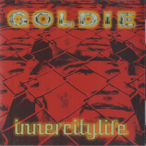 """Goldie (90s) Inner City Life - The Remixes CD single (CD5 / 5"""") US GODC5IN471909"""